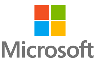 Logo for the company Microsoft