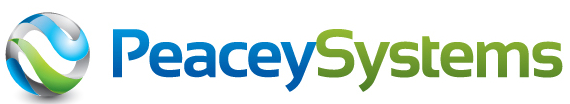 Logo for the company Peacey Systems